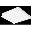 2605 LED Luminária Led de embutir com difusor em poliestireno leitoso ou translúcido.