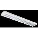 2617 LED Luminária Led de embutir dupla parabólica em alumínio anodizado alto brilho, aleta alumínio com controle de ofuscamento.