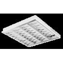 2640 LED Luminária Led de embutir com controle ótico, refletor e aletas parabólicas em alumínio alto brilho.